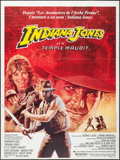 "Movie Posters:Adventure, Indiana Jones and the Temple of Doom (Paramount, 1984). FrenchGrande (47.25"" X 63""). Adventure.. ..."