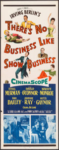 "Movie Posters:Musical, There's No Business Like Show Business (20th Century Fox, 1954). Insert (14"" X 36""). Musical.. ..."