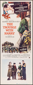 "Movie Posters:Hitchcock, The Trouble with Harry (Paramount, 1955). Insert (14"" X 36""). Hitchcock.. ..."