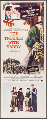 "The Trouble with Harry (Paramount, 1955). Insert (14"" X 36""). Hitchcock"