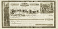 Obsoletes By State:Nevada, Carson, NV- Controller's Office/Treasurer of State $8.50 June 1, 1874. ...