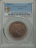 Liberia, Liberia: Republic Specimen 2 Cents 1896-H SP64 Red and BrownPCGS,...