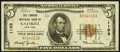 National Bank Notes:New York, Catskill, NY - $5 1929 Ty. 1 The Tanners NB Ch. # 1198. ...