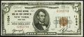 National Bank Notes:New York, New York, NY - $5 1929 Ty. 1 The Public NB & TC Ch. # 11034. ...