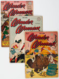 Silver Age (1956-1969):Superhero, Wonder Woman Group of 5 (DC, 1946-50) Condition: Average FR.... (Total: 5 Comic Books)
