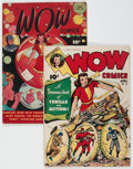 Golden Age (1938-1955):Miscellaneous, Wow Comics #24 and 44 Group (Fawcett Publications, 1944-46).... (Total: 2 Comic Books)
