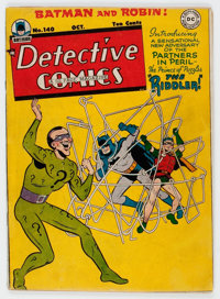 Detective Comics #140 (DC, 1948) Condition: Apparent VG