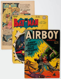 Comic Books: Assorted Golden Age Comics Group of 19 (Various Publishers, 1940s) Condition: Incomplete.... (Total: 19 Com...