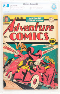 Adventure Comics #80 (DC, 1942) CBCS VG/FN 5.0 Off-white to white pages