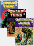 Bronze Age (1970-1979):Horror, Swamp Thing Group of 10 (DC, 1972-75) Condition: Average NM.... (Total: 10 Comic Books)