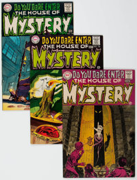 House of Mystery Group of 5 (DC, 1968-73) Condition: Average VF+.... (Total: 5 Comic Books)
