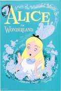 "Animation Art:Poster, Disneyland Park Entrance Poster ""Alice In Wonderland"" Fantasyland(Walt Disney, 1958)...."