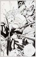 Original Comic Art:Splash Pages, Josh Hood and Rich Perrotta Marvel Team-Up #8 Splash Page 22Original Art (Marvel, 1998)....