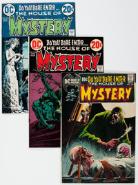 House of Mystery Group of 7 (DC, 1971-76) Condition: Average NM-.... (Total: 7 Comic Books)