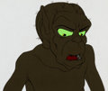 Animation Art:Production Cel, Lord of the Rings Gollum Production Cel and Drawing (RalphBakshi/United Artists, 1978).... (Total: 2 Original Art)