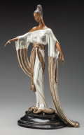 Bronze:Contemporary, An Etré Cold Painted Bronze Sculpture: Negligee, circa 1984.Marks: (artist's cipher), 200/300, JM, FINE ART A...