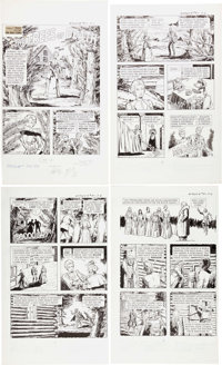 Adolfo Buylla Ripley's Believe it of Not! #57 Complete 7-Page Story Original Art (Gold Key, 1975).... (Total: 7 Original...