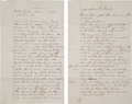 Miscellaneous:Ephemera, Graham County, Arizona: Mexican Man's Testimony Concerning Shooting....