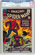 Silver Age (1956-1969):Superhero, The Amazing Spider-Man #40 (Marvel, 1966) CGC VF- 7.5 Off-white to white pages....
