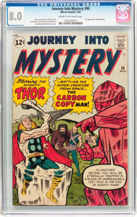 Journey Into Mystery #90 (Marvel, 1963) CGC VF 8.0 Cream to off-white pages