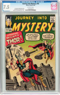 Silver Age (1956-1969):Superhero, Journey Into Mystery #95 (Marvel, 1963) CGC VF- 7.5 Off-white pages....