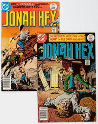 Jonah Hex #1 and 2 Group (DC, 1977) Condition: Average NM-.... (Total: 2 Comic Books)