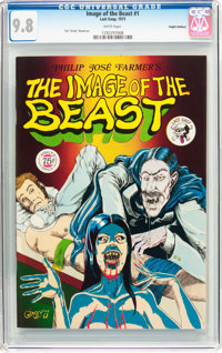 The Image of the Beast #1 Haight-Ashbury Pedigree (Last Gasp, 1973) CGC NM/MT 9.8 White pages
