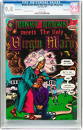 Binky Brown Meets the Holy Virgin Mary #nn Haight-Ashbury Pedigree (Last Gasp, 1972) CGC NM 9.4 White pages