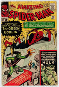Silver Age (1956-1969):Superhero, The Amazing Spider-Man #14 (Marvel, 1964) Condition: GD/VG....