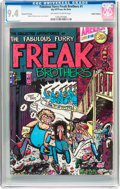 Bronze Age (1970-1979):Alternative/Underground, The Fabulous Furry Freak Brothers #1 Haight-Ashbury Pedigree (Rip Off Press, 1971) CGC NM 9.4 Off-white to white pages....