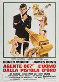 "Movie Posters:James Bond, The Man with the Golden Gun (United Artists, 1974). Italian 2 -Fogli (39.25"" X 55""). James Bond.. ..."