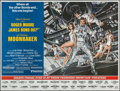 "Movie Posters:James Bond, Moonraker (United Artists, 1979). New York Subway (45"" X 55"") Advance. James Bond.. ..."