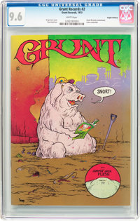 Grunt Records #2 Haight-Ashbury Pedigree (Grunt Records, 1973) CGC NM+ 9.6 White pages
