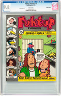 Bronze Age (1970-1979):Alternative/Underground, Fuktup Funnies #1 Haight-Ashbury Pedigree (Head Imports, 1972) CGC NM/MT 9.8 White pages....