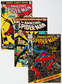 The Amazing Spider-Man Group of 32 (Marvel, 1971-80) Condition: Average VF-.... (Total: 32 Comic Books)