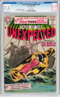 Silver Age (1956-1969):Horror, Tales of the Unexpected #6 (DC, 1956) CGC VF- 7.5 Off-whitepages....