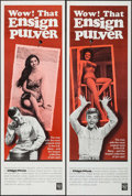 "Movie Posters:Comedy, Ensign Pulver (Warner Brothers, 1964). Door Panels (3) (20"" X 60"")3 Styles. Comedy.. ... (Total: 3 Items)"