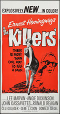 "Movie Posters:Crime, The Killers (Universal, 1964). Three Sheet (41"" X 78.5""). Crime....."