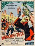 """Movie Posters:Foreign, Musique en Tete (Cocinor, 1951). French Grande (47"""" X 63""""). Foreign.. ..."""