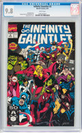 Modern Age (1980-Present):Superhero, The Infinity Gauntlet #3 (Marvel, 1991) CGC NM/MT 9.8 Whitepages....