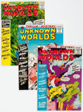 Silver Age (1956-1969):Horror, Unknown Worlds Group of 5 (ACG, 1961-66).... (Total: 5 Comic Books)