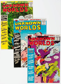 Unknown Worlds Group of 5 (ACG, 1961-66).... (Total: 5 Comic Books)