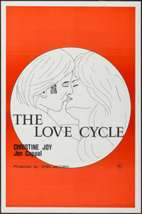 "The Love Cycle & Others Lot (Don Jacobs, 1977). One Sheets (3) (27"" X 41""). Adult. ... (Total: 3 Items..."