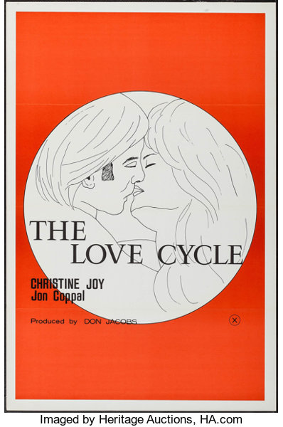 The Love Cycle Others Lot Don Jacobs 1977 One Sheets Lot