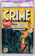 Crime Does Not Pay #27 (Lev Gleason, 1943) CGC Apparent FN+ 6.5 Slight (C-1) Off-white to white pages