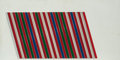 Fine Art - Painting, European:Contemporary   (1950 to present)  , Lars Erik Falk (Swedish, b. 1922). Modul reliet itavg 56D,1981. Metal and enamel on wood. 12 x 23-3/4 inches (30.5 x 60...