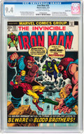 Bronze Age (1970-1979):Superhero, Iron Man #55 Double Cover (Marvel, 1973) CGC NM 9.4 Off-white to white pages....