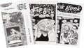 Memorabilia:Miscellaneous, Adrian Tomine and Ariel Bordeaux Mini-Comics Group of 9 (1992-94).... (Total: 9 Items)