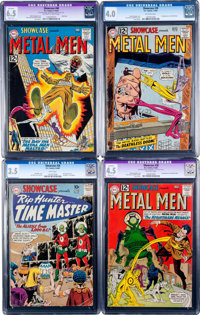 Showcase #26 and 38-40 CGC-Graded Group (DC, 1960-62).... (Total: 4 Comic Books)