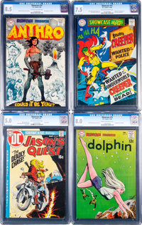 Showcase CGC-Graded Group of 6 (DC, 1968-78).... (Total: 6 Items)